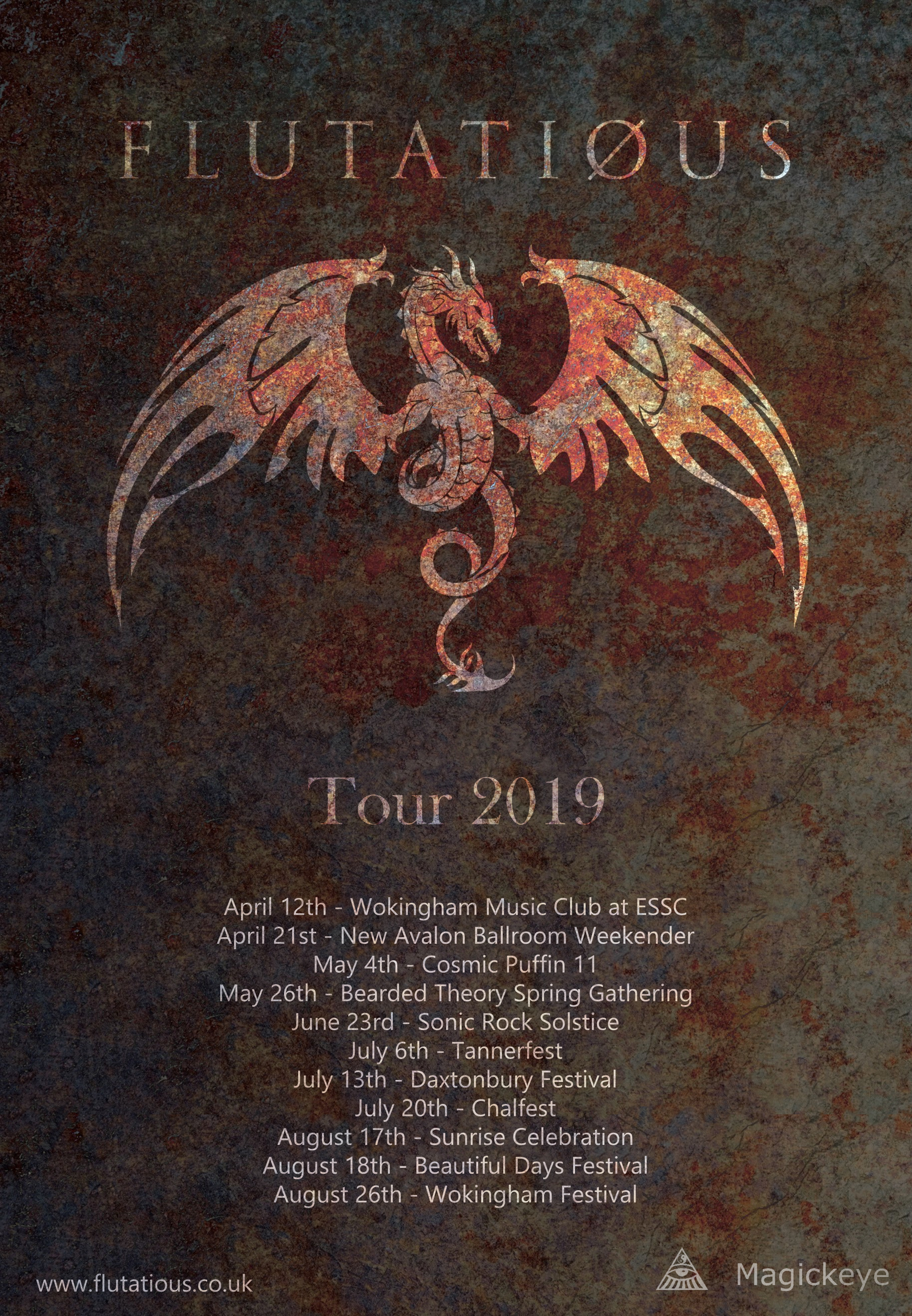 Flutatious 2019 Tour Dates